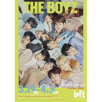 "THE BOYZ EXHIBITION ""O/I outsideinside"""